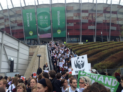 Civil Society groups walk our of Warsaw meeting