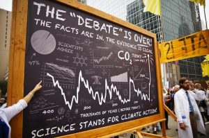 Climate Science takes to the streets